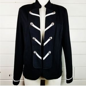 Tommy Hilfiger | Black Military Blazer Jacket